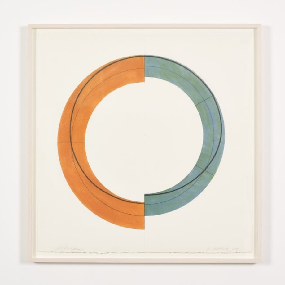 Split Ring Image by Robert Mangold