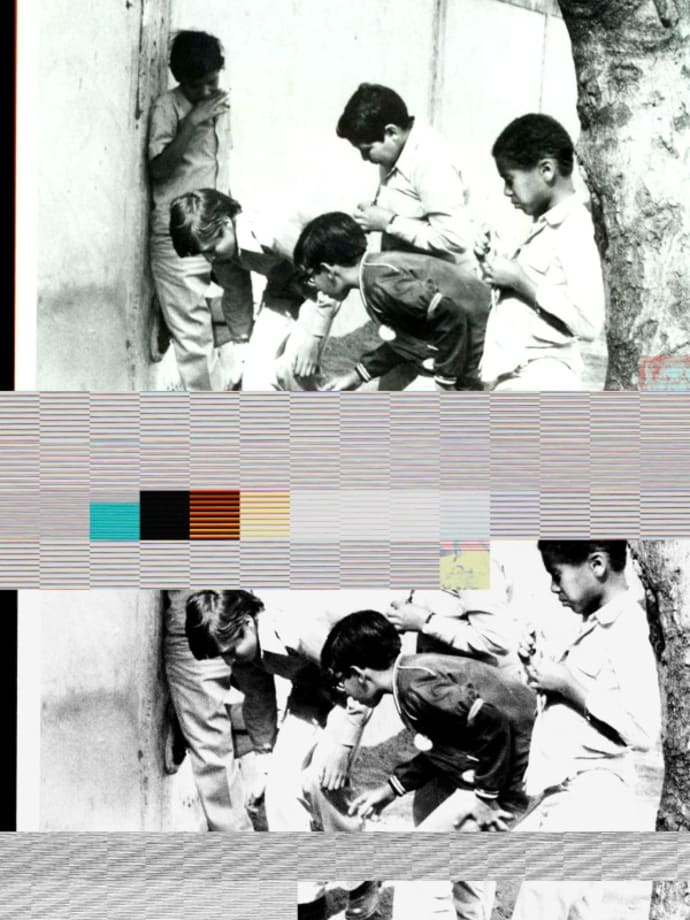 2 corrupted files from page 12, [m6], From the series 'Los Manolos, Plan Caracas No. 2, 1974-1976' by Alessandro Balteo-Yazbeck