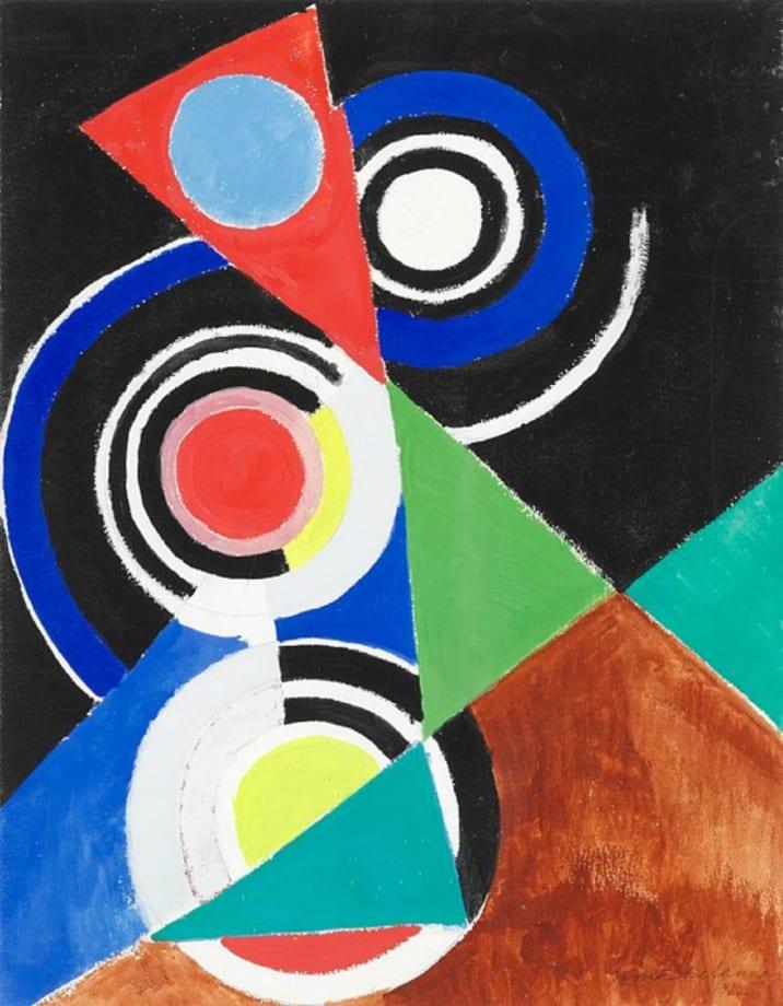 Composition pour Jazz, 2e Série by Sonia Delaunay