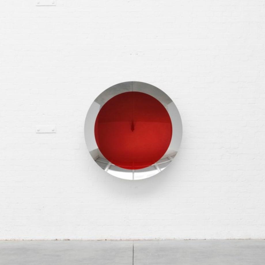 Untitled (Tangerine Magenta) by Anish Kapoor