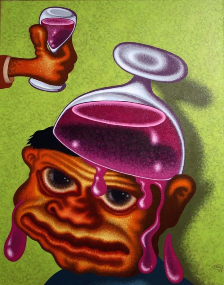One Too Many by Peter Saul