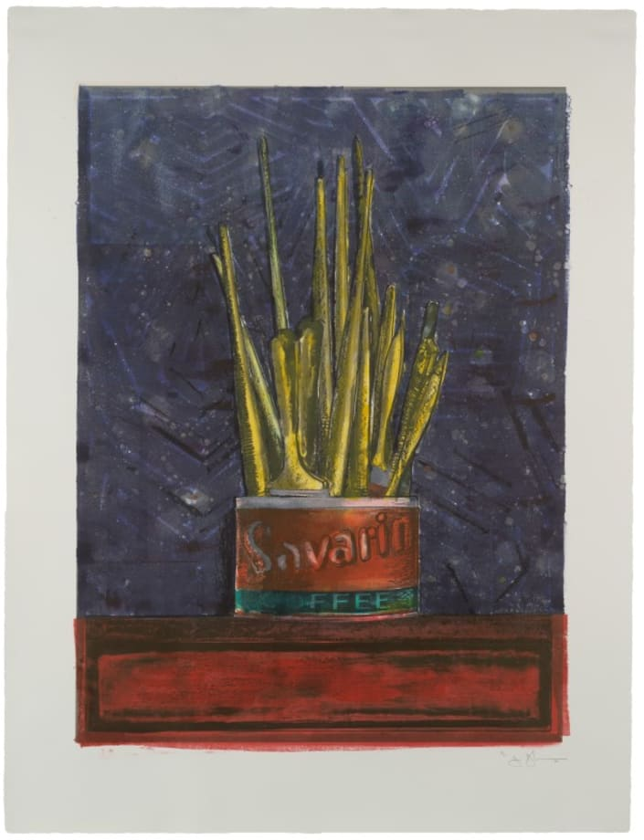 Savarin by Jasper Johns