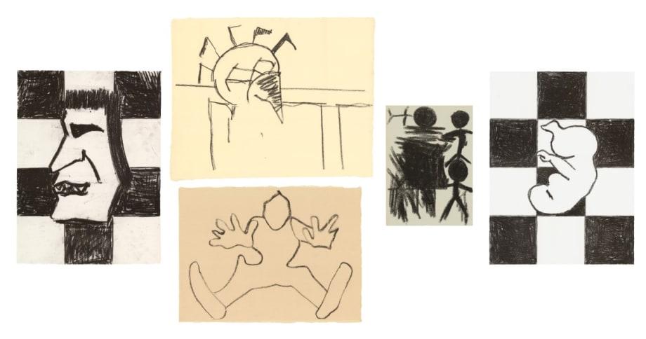 5 Lithographs by Joe Bradley
