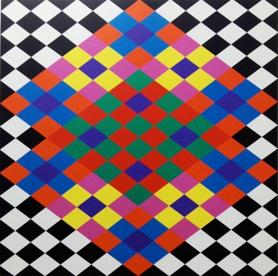 Opus AA 3 by Rasheed Araeen
