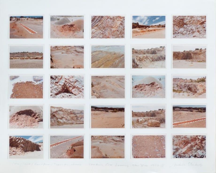 Color / Time / Landform / Transformations III by Michelle Stuart
