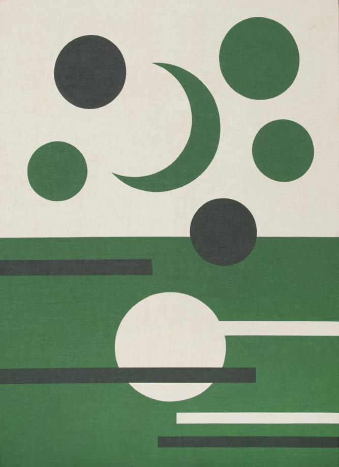 Día y Noche (verdes) by Antonio Ballester Moreno