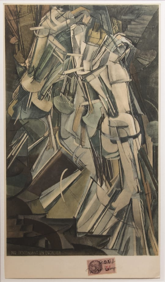 Nude Descending a Staircase No. 2 by Marcel Duchamp