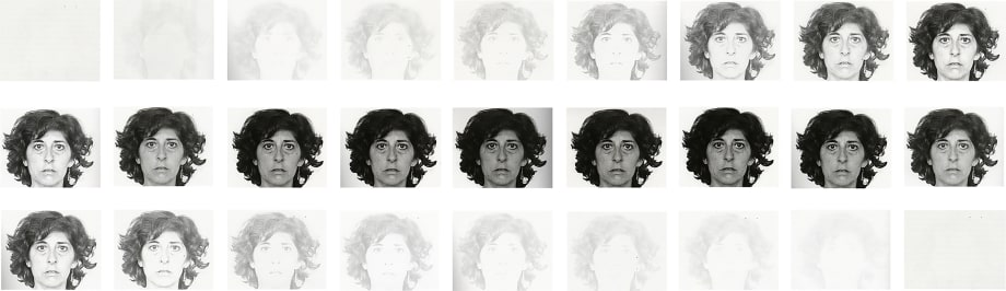 Self-Portrait in Space (From Nothing to Nothing) by Esther Ferrer