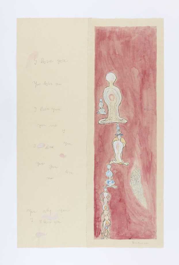 I Love You, You Love Me  by Louise Bourgeois