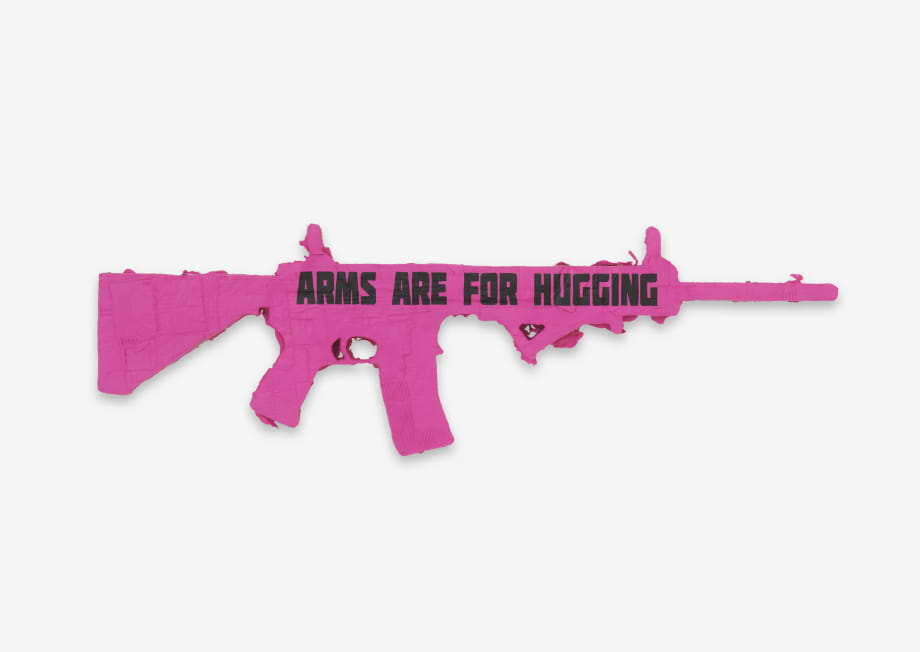 Arms are for Hugging: Ode to CODEPINK (Santa Fe) by Andrea Bowers