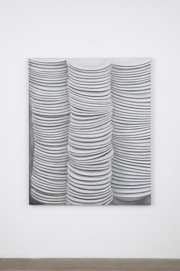 Untitled (Dinner Plate) by Kim Dingle