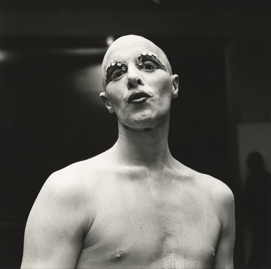 Larry Ree Backstage by Peter Hujar
