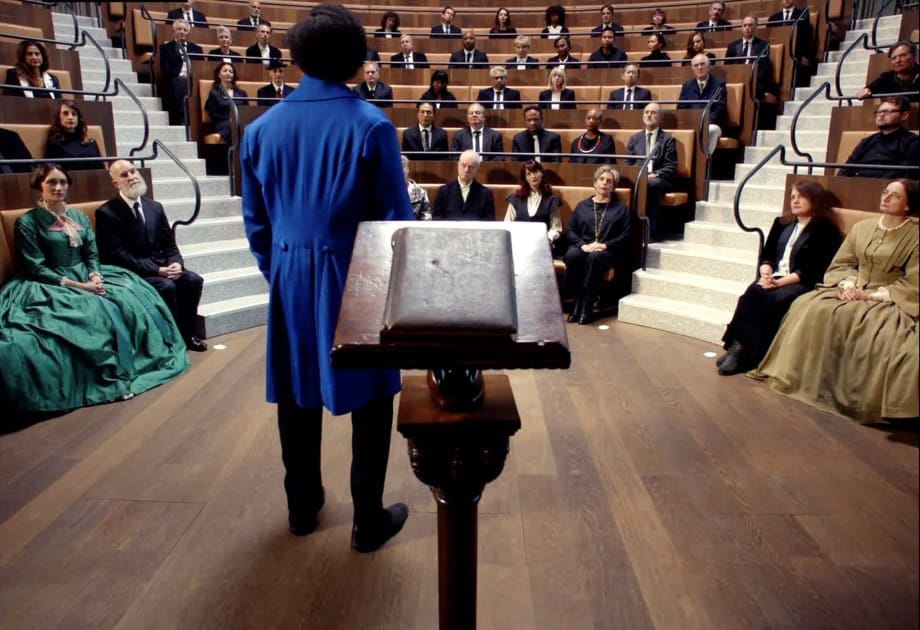 Lessons of The Hour by Isaac Julien
